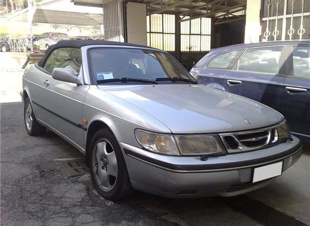 Saab 900 2.0i turbo 16V cat Cabriolet SE completo